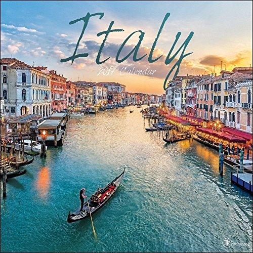 TF Publishing Italy 2017 Wall Calendar