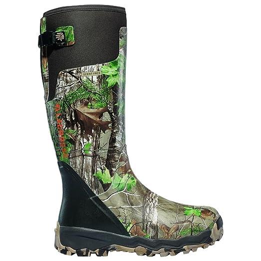 18 inch LaCrosse Alphaburly Pro Realtree Xtra Hunting Boots, Realtree Xtra  Green, 10D