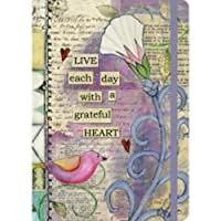 "LANG -""Grateful Heart"", Classic Journal, Artwork by Lisa Kaus - Hard Cover - 192 Ruled Page - 6'' x 8-1/4''"