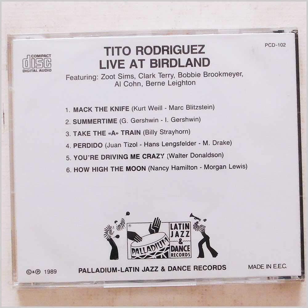 Live at Birdland [Music CD]