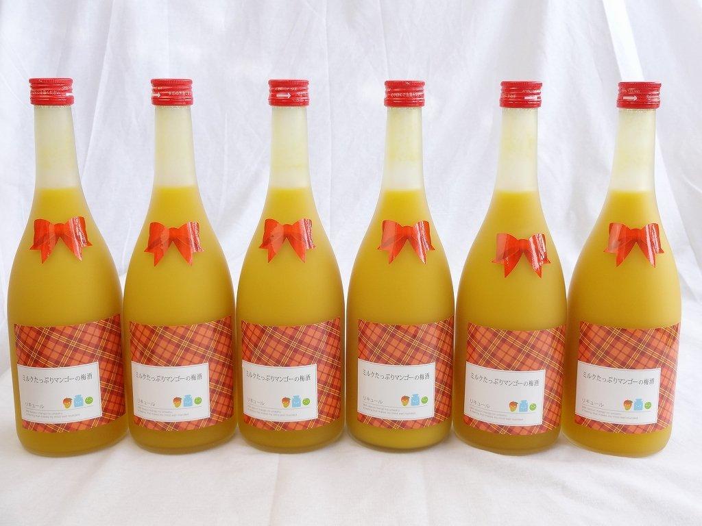 12本セット ミルクたっぷりマンゴーの梅酒 研醸 720ml×12本 B00NSF9WSA