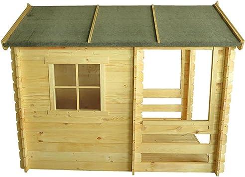 Kokido - Casita de madera para niños 175 x 130 x 145 cm: Amazon.es: Juguetes y juegos