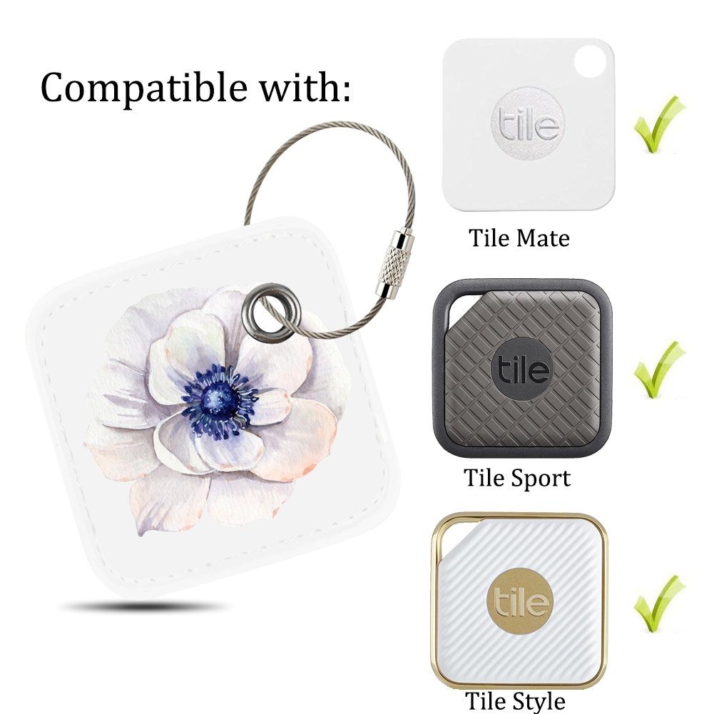Phone Finder Lether Case Cover for Tile Mate with Anti-lost Design Case for Tile Mate// Tile Sport// Tile Style Anything Finder By Logity. Rose Tile Mate Accessories Key Finder