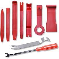 Car Door Clip Panel Trim Install Removal Tool Kits for Car Dash Radio Audio Installer Pry Tool 9PCS