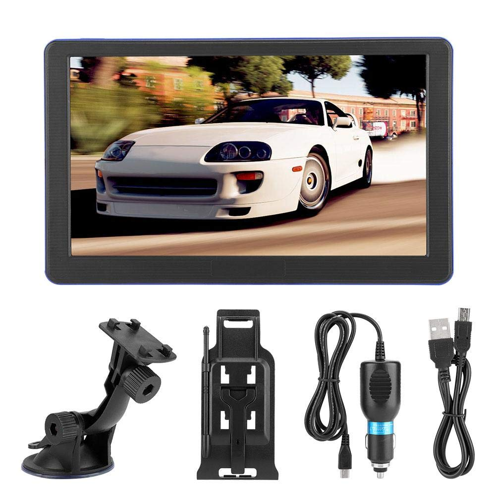 Wendry Car GPS Navigation Device, 747-8G Portable Universal Touch Screen GPS Navigator Car Navigaton Suitable for All Vehicles, Easy to Operate and Install by Wendry