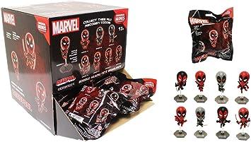 Marvel Deadpool Original Minis Figure Blind Pack Complete Box of 24 Mystery Packs: Amazon.es: Juguetes y juegos