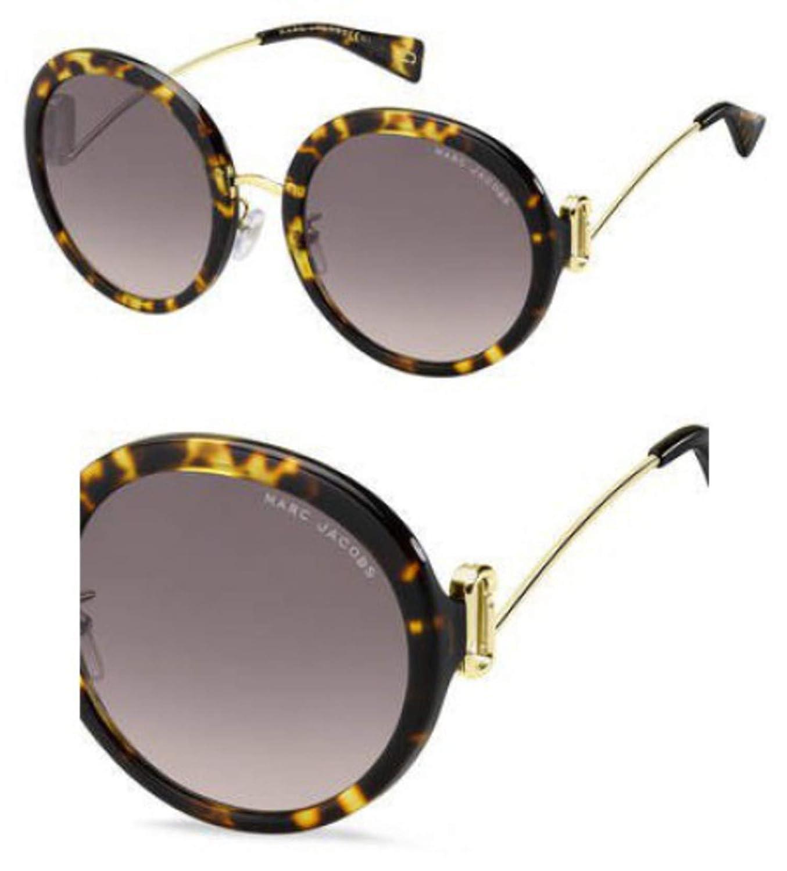 3X pink gradient lens Sunglasses Marc Jacobs 374 //F//S 0086 Dark Havana