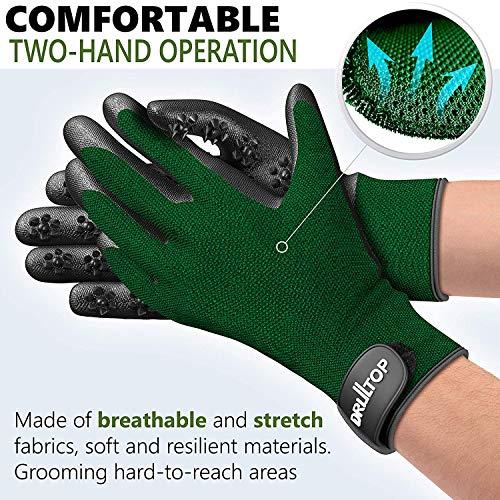 Amazon.com: DrillTop [actualizado 2019] Juego de 2 guantes ...