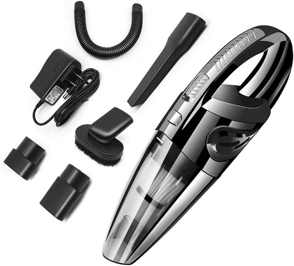 Ting Ting Aspirador Portátil, 3.5Kpa 120Wlightweight Vacuum Low Noise Cleaner con para Pet Home Office Car (Negro): Amazon.es: Hogar