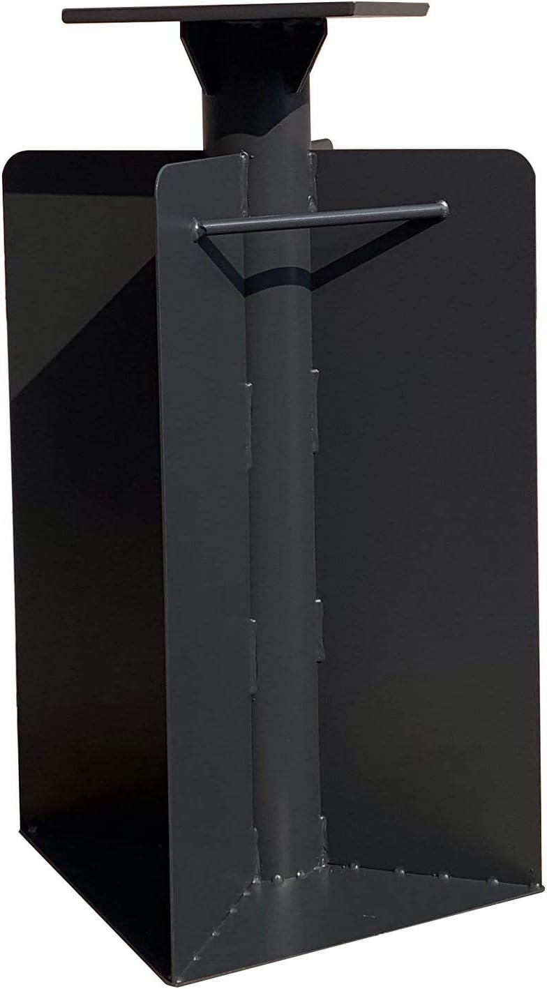 X 15.75 H D X 15.75 PURPLE LEAF Offset Patio Umbrella Base In Ground W 21.65
