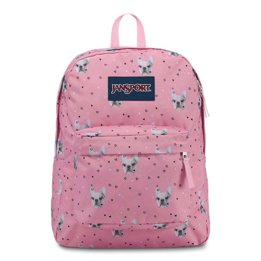 JanSport JS00T5014P6 Superbreak Backpack, Fierce Frenchies