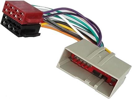 ISO Hama Car Adapter ISO Ford Fiesta//Fusion 2002 adaptador de cable Adaptador para cable