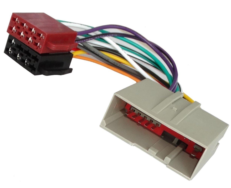 AERZETIX - AK4 ISO-Konverter - Adapter - Kabel Radioadapter Radio Kabel Stecker ISO-Kabel Verbindung 3800946215486