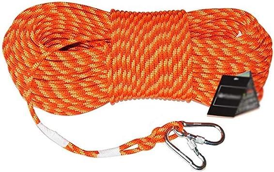 CHQYY Cuerda de cáñamo- Cuerdas-50m cuerda de seguridad ...