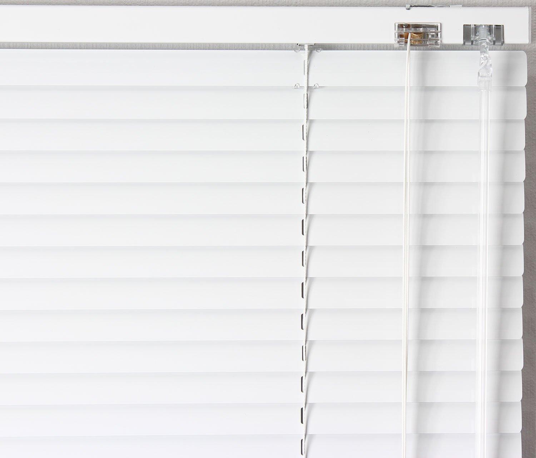EFIXS Alu-Jalousie - Farbe  weiss - Höhe  160cm 160cm 160cm - Breite im Angebot wählbar - hier  230 x 160 cm (Breite x Höhe) - Aluminium-Jalousie B002XFX0K2 Jalousien a6e54f