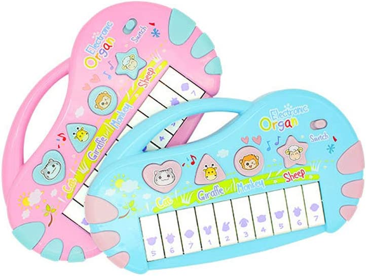 LIUFS-El teclado Juguete Música Piano Puzzle Niños Teclado ...