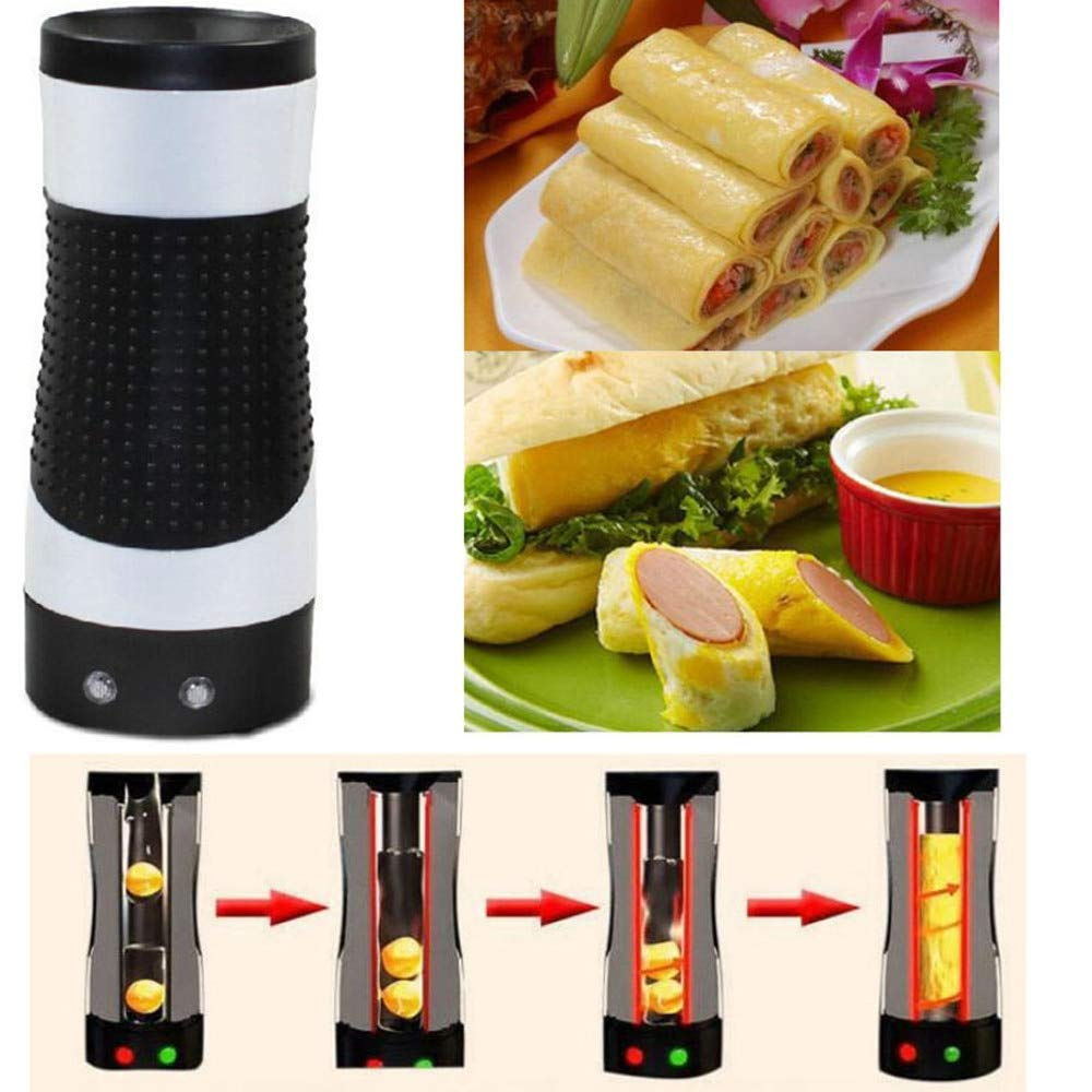 Plug 220V Electric Household Automatic Rising Egg Roll Maker Cooking Egg Cup Omelette Sausage Machine
