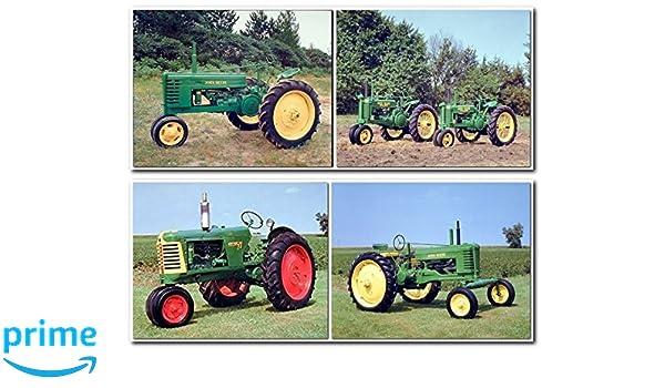 Amazoncom Vintage Oliver 77 Row Crop John Deere Farm Tractor 8x10