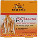 Tiger Balm Pain Relieving Patch 5 Per Box (3 Boxes)