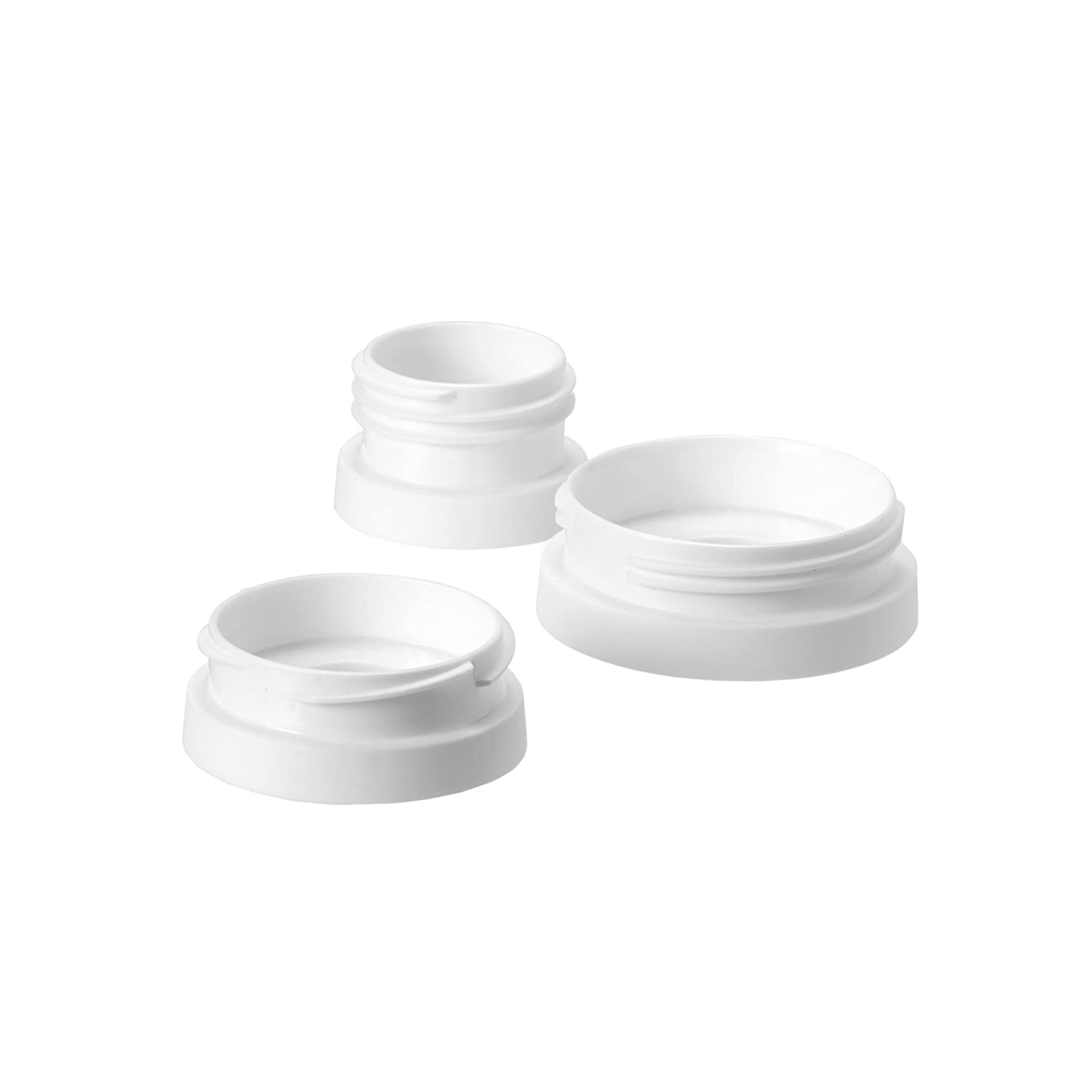 Tommee Tippee 3 Piece Pump and Go Breast Pump Adapter Set 522624