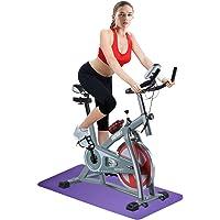 OneTwoFit Bicicleta de Ejercicios Indoor Ciclismo Spinning Bike Inicio Gym Entrenamiento Cardio Training