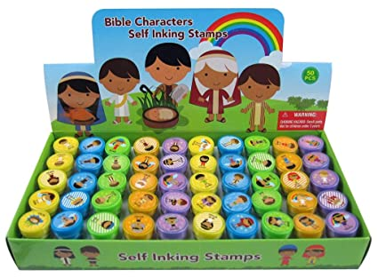 TINYMILLS 50 Pcs Religious Assorted Stampers for Kids Baby