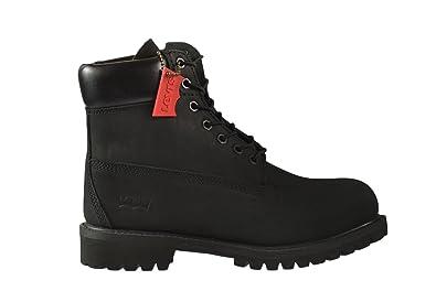 New Exclusive High End Mens Boots - Levi's Harrison Le Black Mono