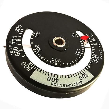 SADA72 Termómetro de Tubo de Estufa, medidor magnético, termómetro de Tubo de Horno,