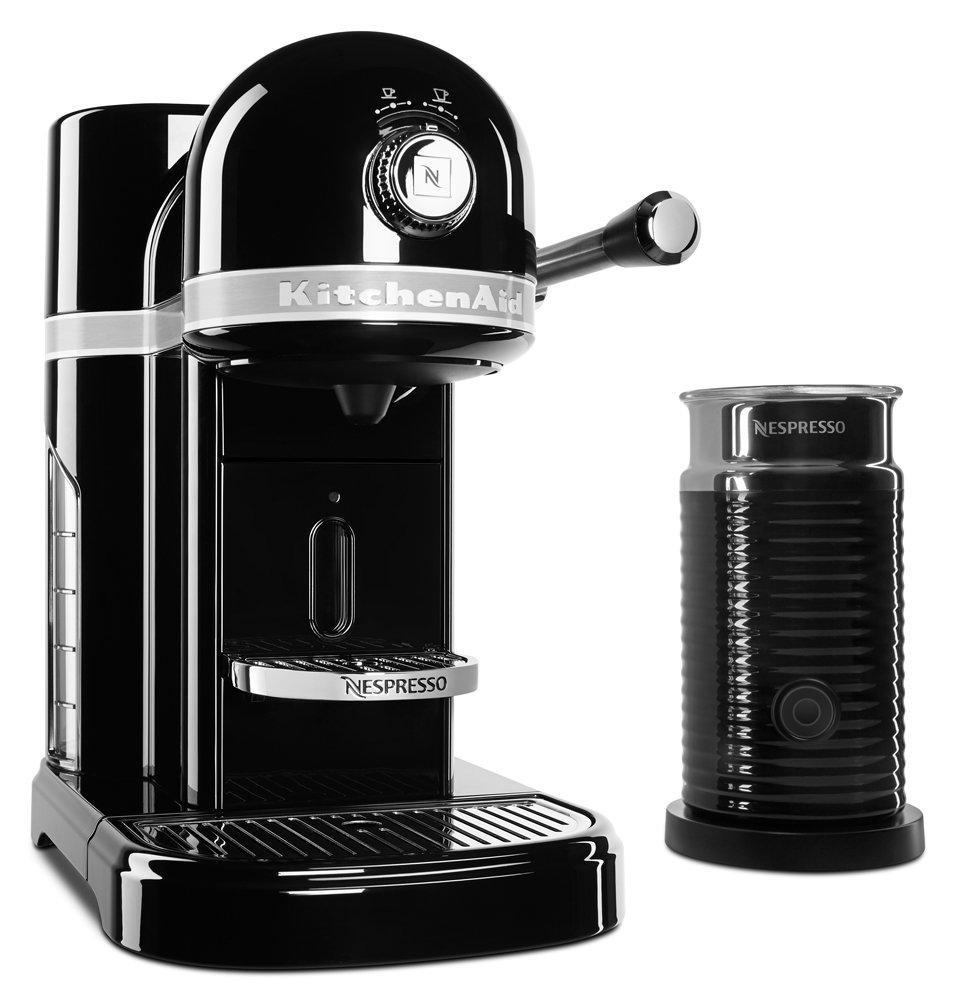KitchenAid KES0504OB Nespresso Bundle, Onyx Black by KitchenAid