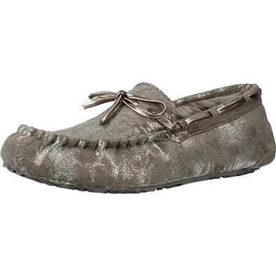 RUBY BROWN Zapatillas de Estar Por casa de Mujer, Color Plateado, Marca, Modelo Zapatillas De Estar Por Casa De Mujer Stardust Plateado