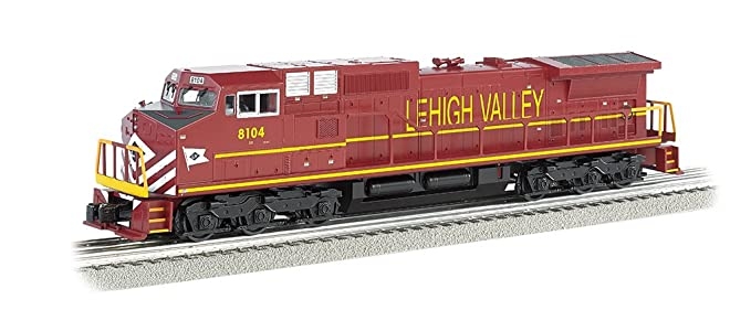 Williams por Bachmann GE Dash 9 Diesel – Lehigh Valley # 8104 tren (o escala