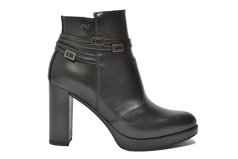NERO GIARDINI Tronchetti scarpe donna nero 9143 mod. A719143D