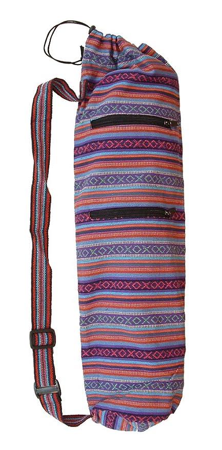Amazon.com: Gyari tela bolsa para esterilla de yoga ...