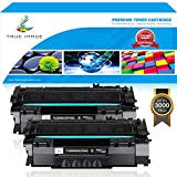 True Image 2Pack Compatible HP 49A Q5949A 53A Q7553A Toner Cartridge for HP LaserJet 1320 1320n 1320tn 1320nw, HP LaserJet 3390 3392, HP Laserjet P2015, P2015dn, M2727nf, M2727 MFP Printer Ink