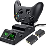 Controller Charger for Xbox One, Controller Charging Station Compatible with Xbox One/X/S Elite Controller, Dual Charging Doc