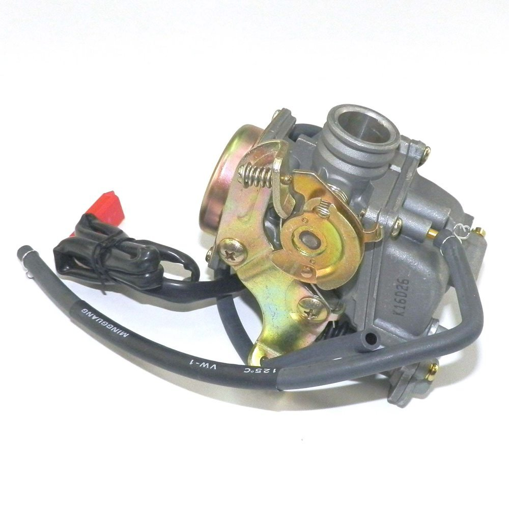 YunShuo Performance Carburetor 50cc-100cc 139QMB GY6 Scooter Carb CVK 20mm by YunShuo (Image #3)