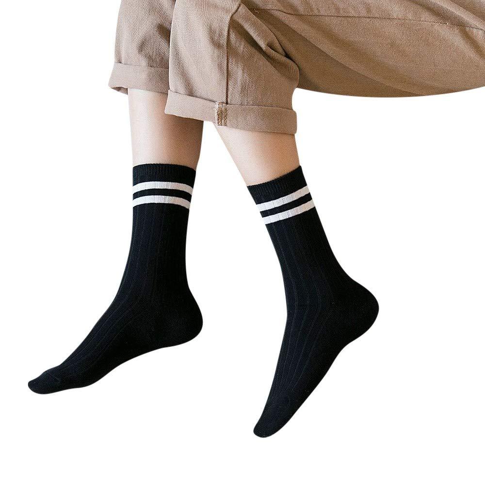 HYIRI 2018 New Women Causal Solid Winter Warm Leg Warmers Knit Knitted Crochet Socks