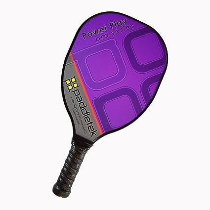Paddletek Power Play Pro Pickleball Paddle, Purple