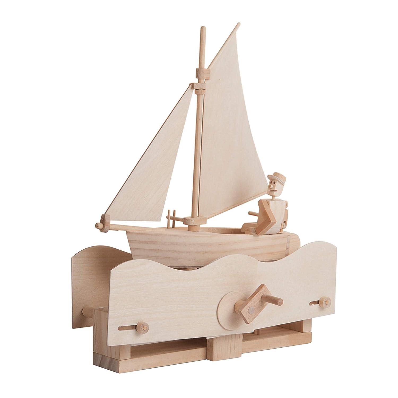 Timberkits autoensamblaje de construcci/ón de madera kit Modelo Movimiento Salada marinero