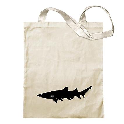 Amazon.com: Kiwistar – Shark Predator Perfil bolsa de yute ...