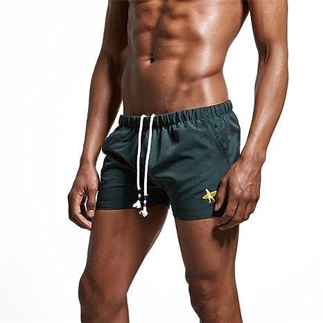 Electri hombre Shorts, traje de baño boxer para hombre corbata ...