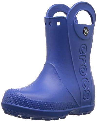 sports shoes cf173 e8f70 crocs Jungen Handle It Rain Boot Gummistiefel