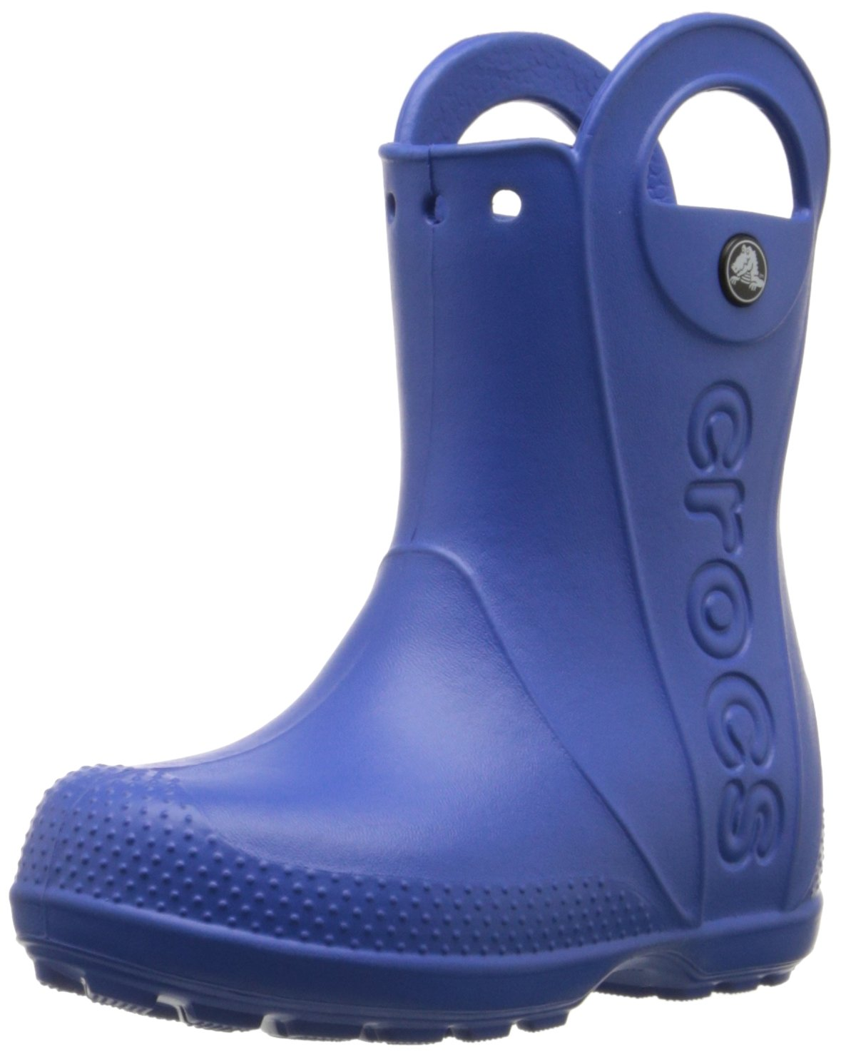 Crocs Kids' Handle It Boot,Sea Blue,10 M US Toddler