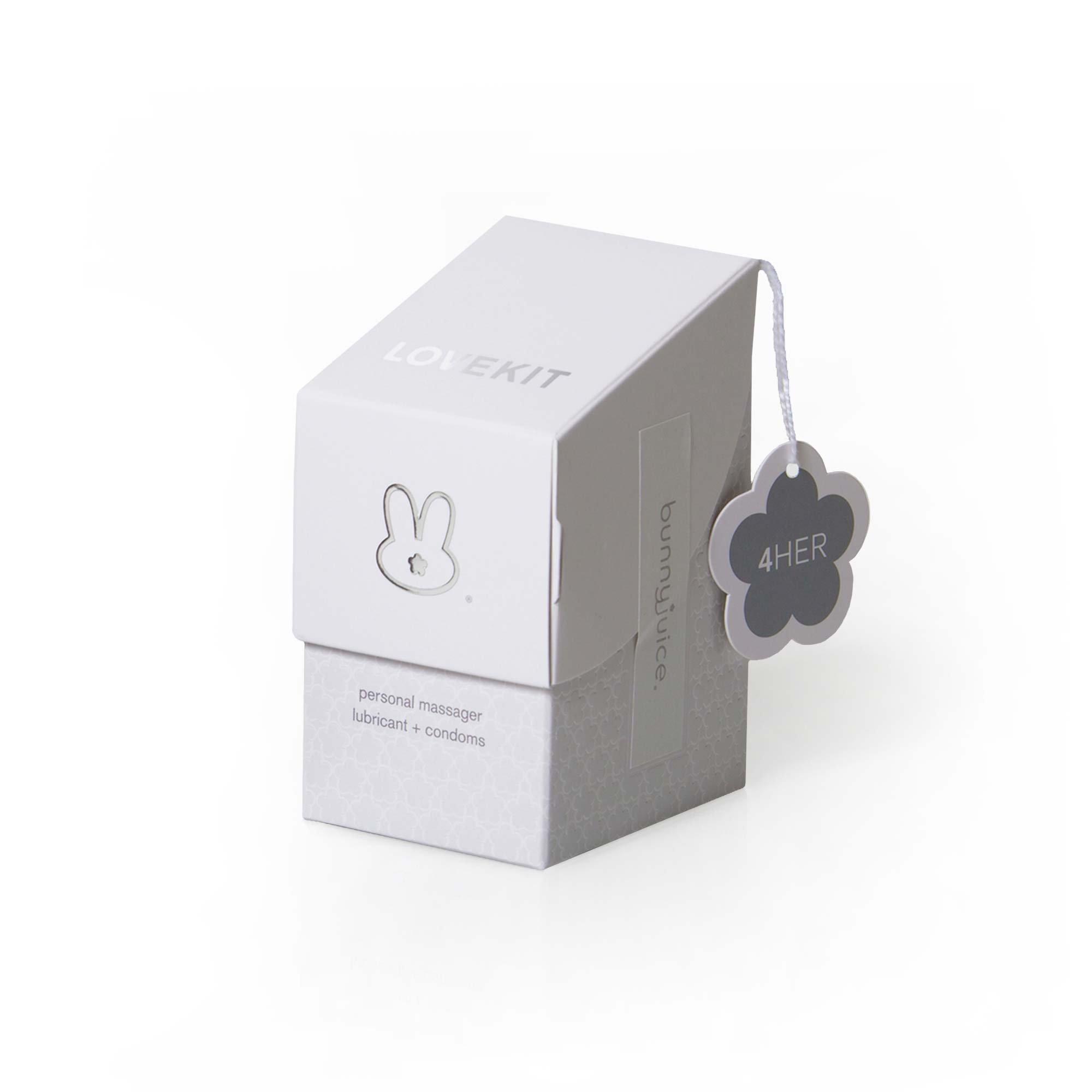 Bunnyjuice Wildbunny Midnight Edition Intimacy Love Kit 4her, White