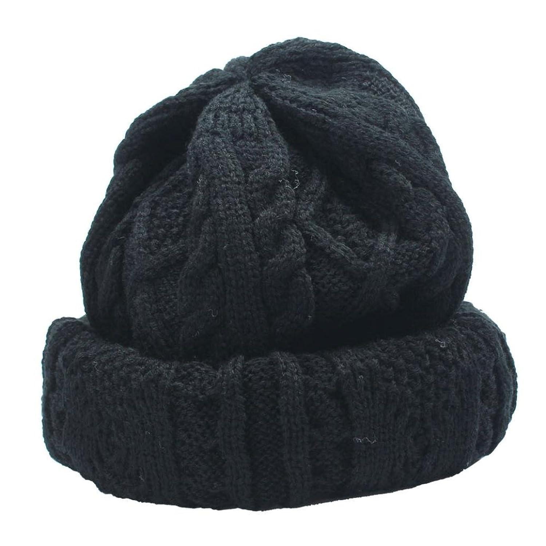 Unisex Wintermütze DDLBiz® Unisex Knit Baggy Beanie Beret Winter warme Ski-Kappe