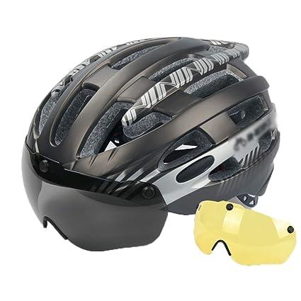Deportes y aire libre Ciclismo Cascos y accesorio Los hombres y mujeres del casco de la