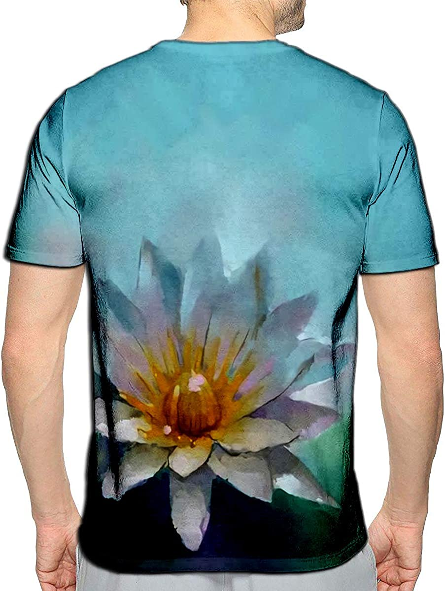 3D Printed T Shirts You Me Decoration Elements Roses Casual Mens Hipster Top Tees