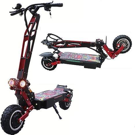 DYHQQ Scooter eléctrico Plegable 3200W E-Scooter de Alta ...