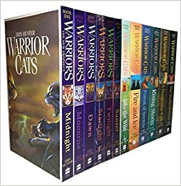Warrior Cats Collection Erin Hunter 12 Books Set The New Prophecy, The Warriors: Amazon.es: Libros