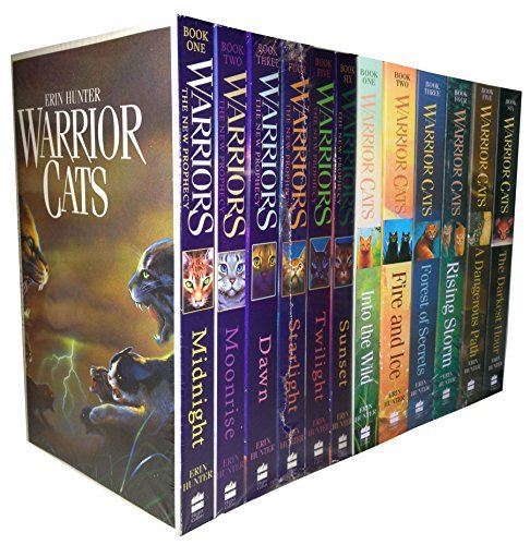 Warriors Collection - Warrior Cats Collection Erin Hunter 12 Books Set The New Prophecy, The Warriors